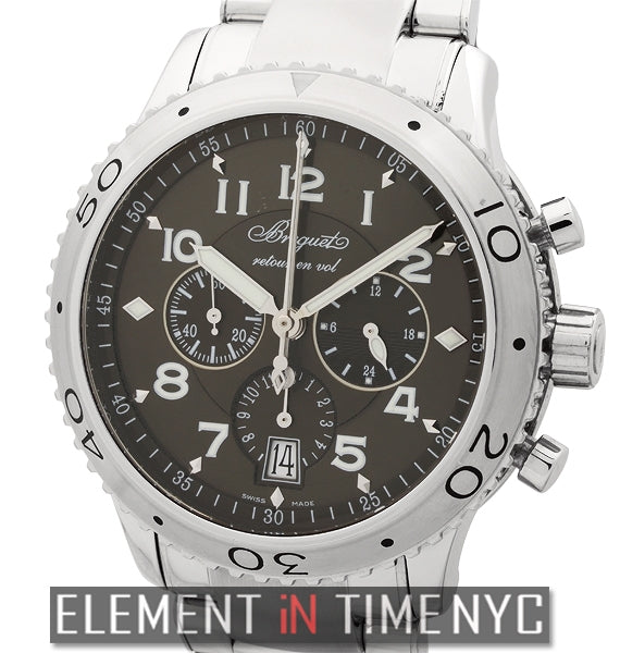 Type XXI Flyback Chronograph Ruthenium Dial