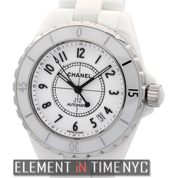 White Ceramic Automatic 38mm