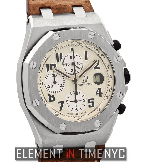 Safari Chronograph 42mm Stainless Steel