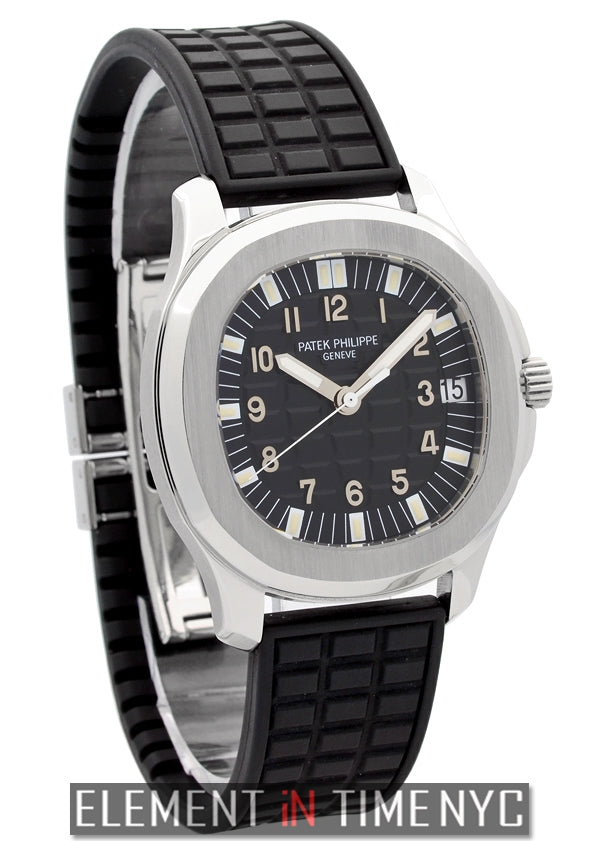 Stainless Steel 38mm Black Dial