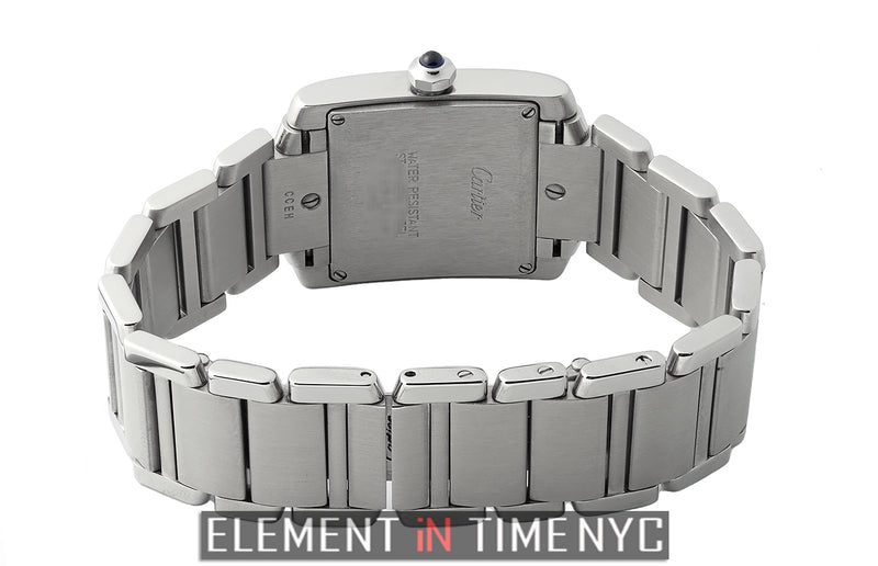 Tank Francaise Stainless Steel Mid-Size 25mm