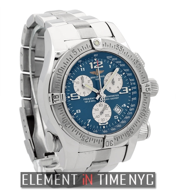 Mission Chronograph Stainless Steel 45mm SuperQuartz