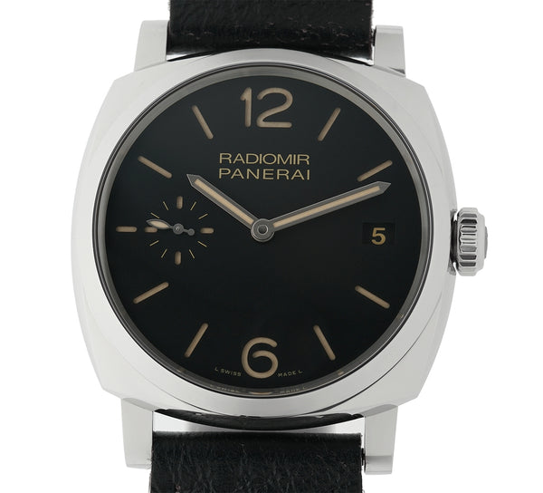 Radiomir 1940 3 Days 47mm Steel Black Sandwich Dial