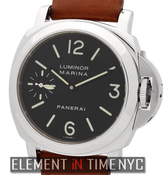 Luminor Marina 44mm Stainless Steel Black Dial G Series