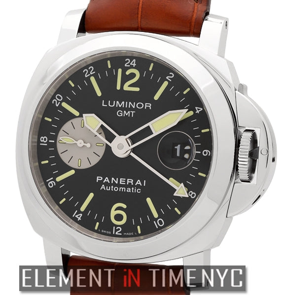 Luminor GMT 44mm Stainless Steel Black Dial