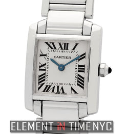 Tank Francaise 18k White Gold Ladies 20mm