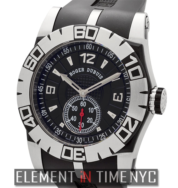 Automatic Stainless Steel 46mm Black Dial