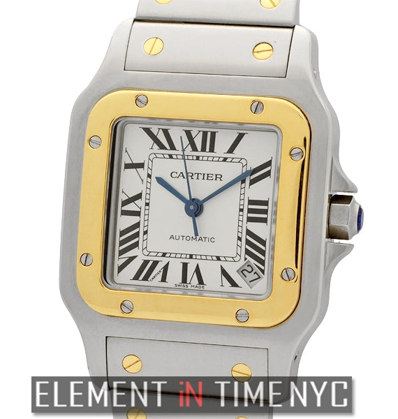 Santos Galbee Steel & Gold Large 32mm