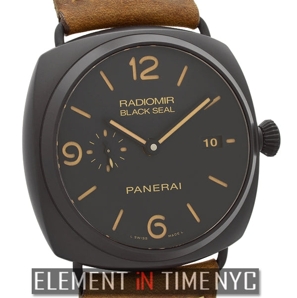 Radiomir Composite Black Seal 3 Days Automatic
