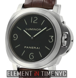 Luminor Base Titanio 44mm Black Sandwich Dial