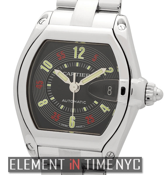 Roadster Stainless Steel 37mm Vegas Dial