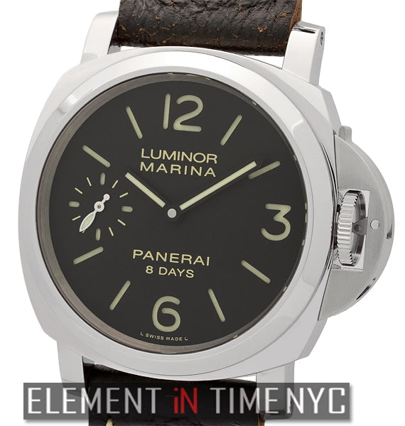 Luminor Marina 8 Days Stainless Steel 44mm