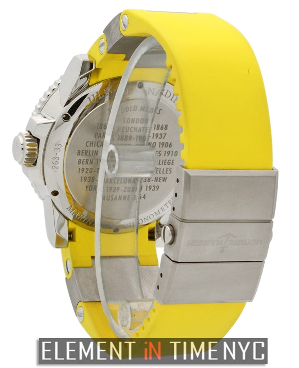 Maxi Marine Diver Chronometer Yellow