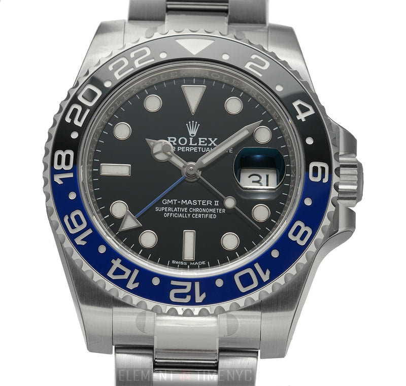 Black & Blue Bezel Batman