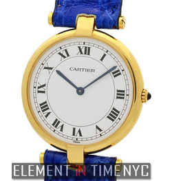 Vendome Vintage 18k Yellow Gold 30mm