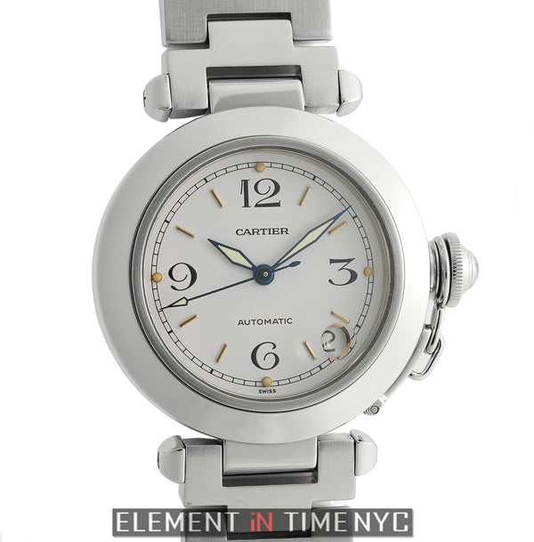 Pasha C Stainless Steel 35mm White Dial Automatic