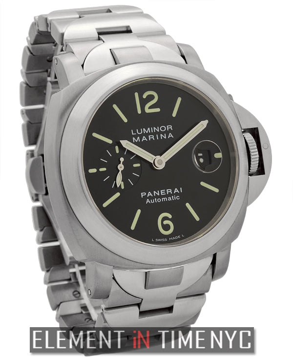 Luminor Marina Titanium Black Dial