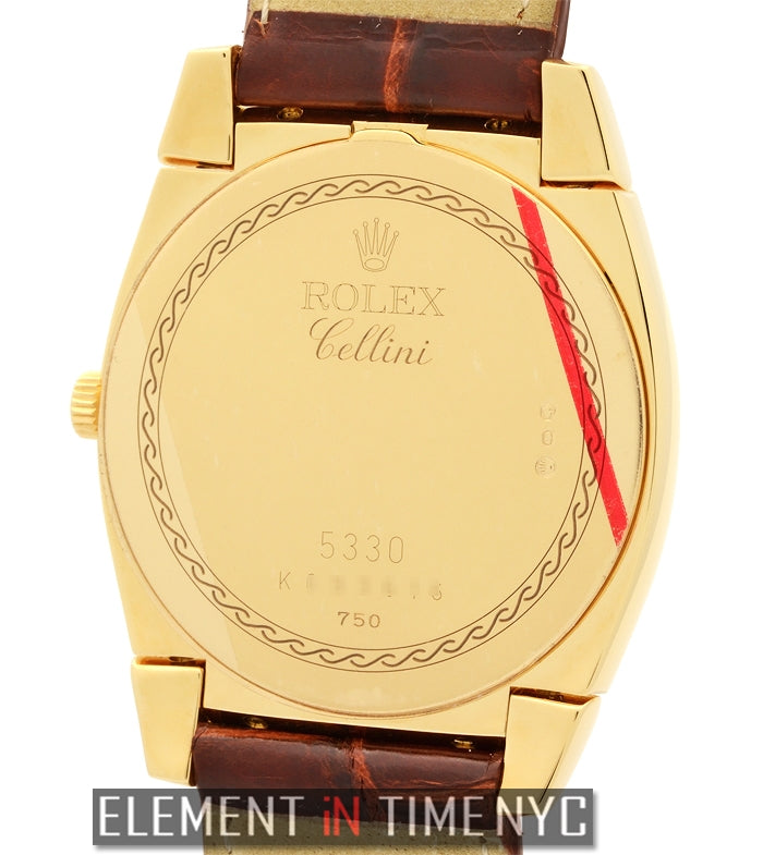Cestello 18k Yellow Gold 36mm K Serial