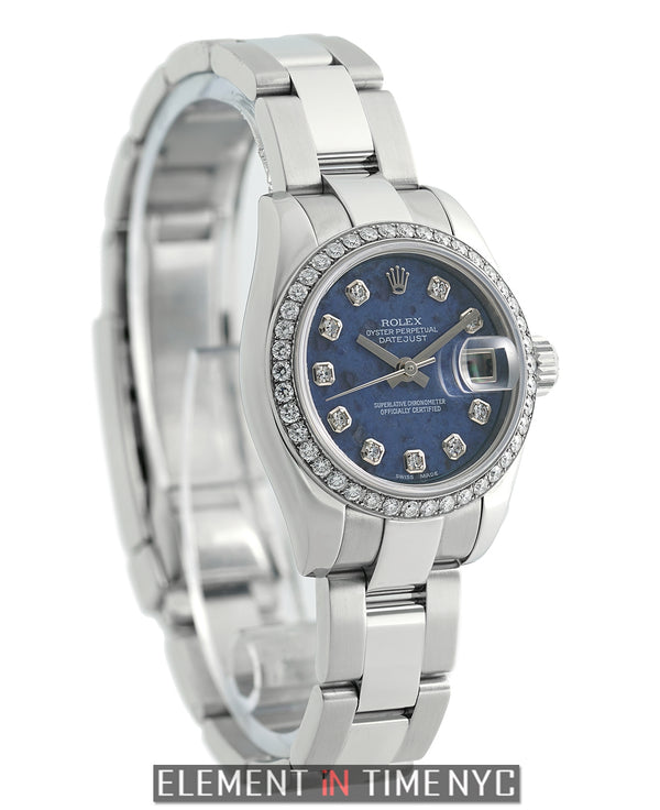 26mm Custom Diamond Bezel Sodalite Diamond Dial 2005