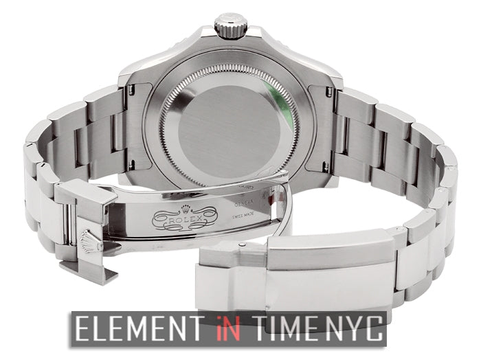 Stainless Steel Platinum Bezel 40mm New Buckle Model