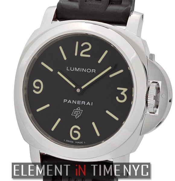 Luminor Base Logo 44mm Stainless Steel L Series