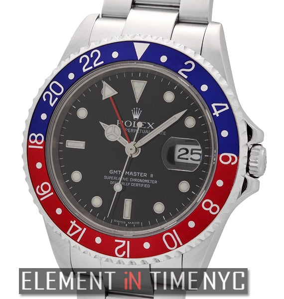 Red/Blue Pepsi Bezel Error Dial D Serial