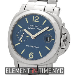Luminor Marina 40mm Stainless Steel Blue Dial F Series