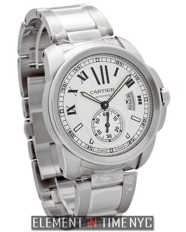 Calibre Stainless Steel Silver 42mm