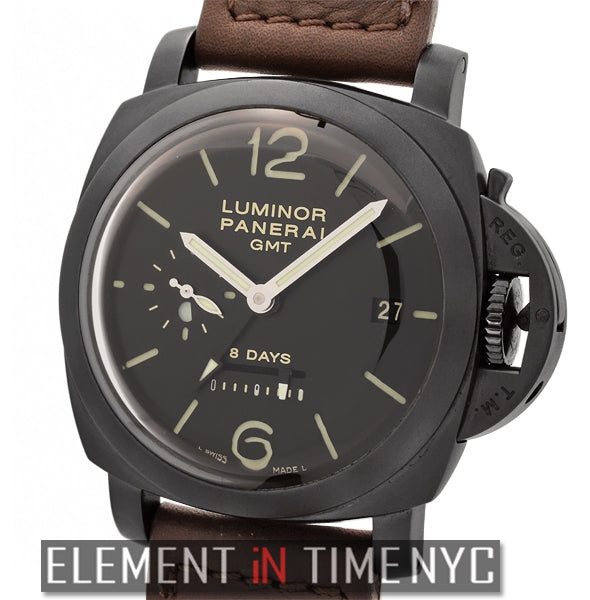 Luminor 1950 8 Days GMT 44mm PVD J Series