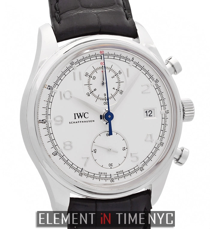 Portuguese Chronograph Classic 42mm Silver Dial