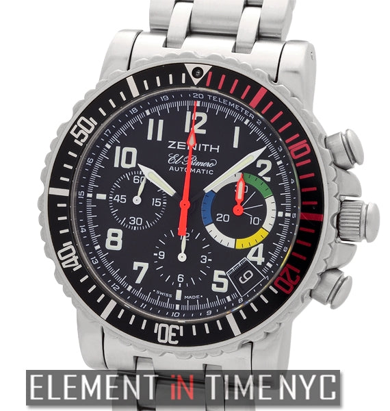 Rainbow Flyback Chronograph 40mm Steel