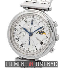 Moonphase Chronograph Stainless Steel