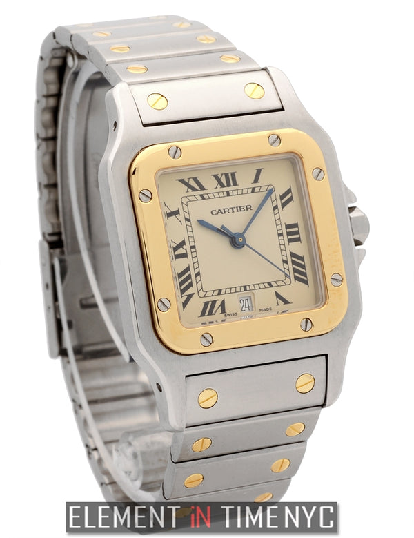 Santos Galbee Steel & 18k Yellow Gold Large 30mm