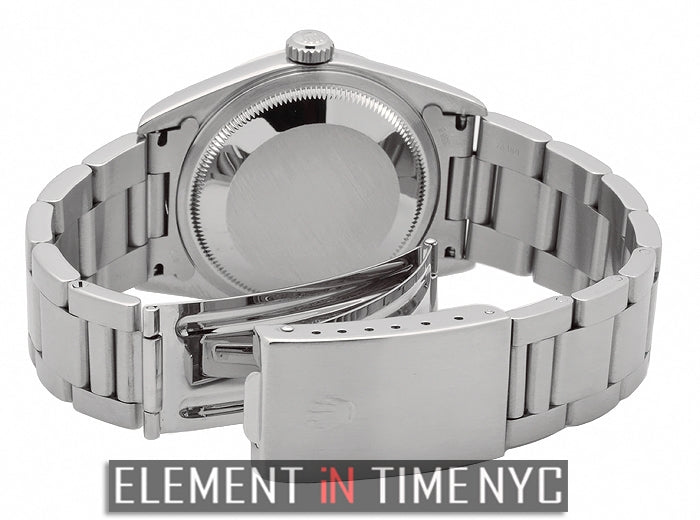 Stainless Steel 36mm Rhodium Roman Dial K Serial