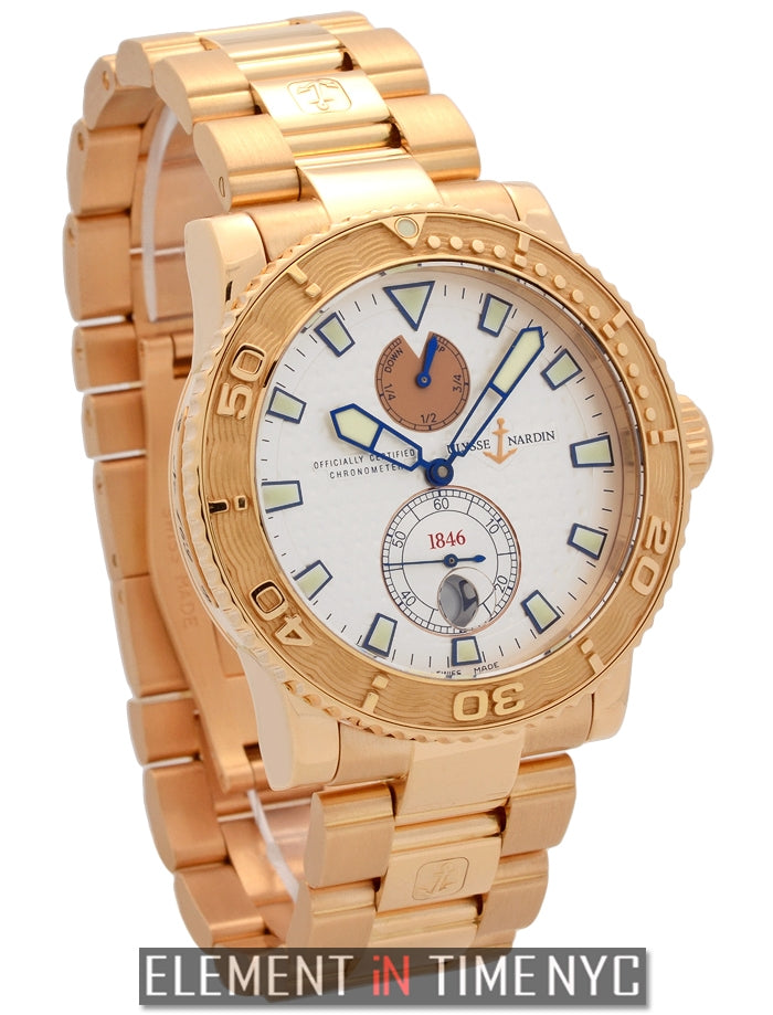18k Rose Gold Chronometer