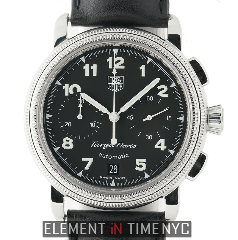Chronograph Stainless Steel 40mm Black Dial