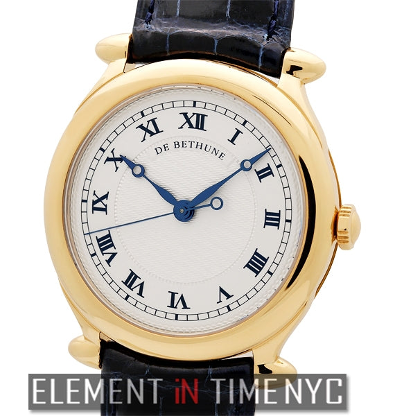 18k Yellow Gold 42mm Silver Dial