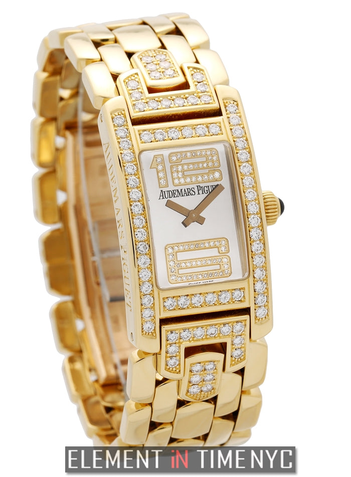 Promesse 18k Yellow Gold With Diamonds