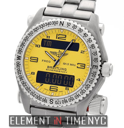 Titanium Yellow Dial 43mm