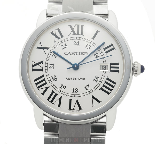Extra-Large 42mm Stainless Steel Automatic