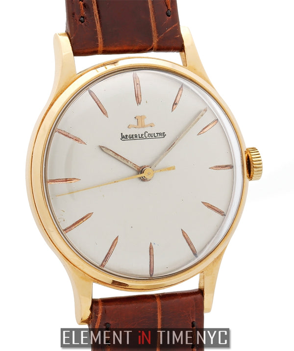 Vintage 18k Rose Gold Dress Watch