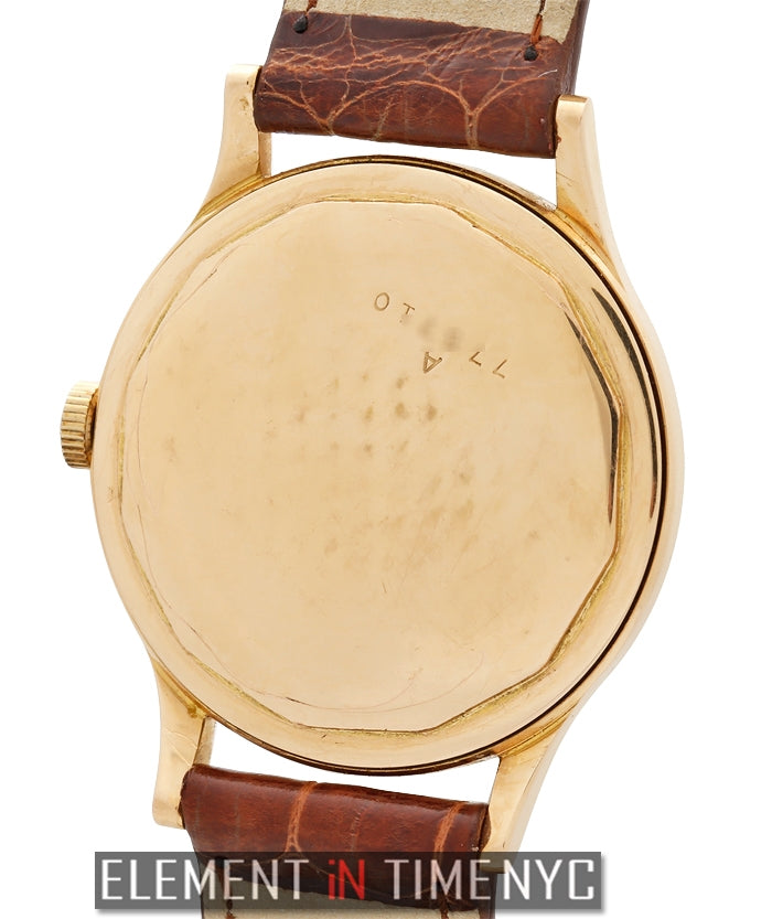 18k Rose Gold Dress Watch