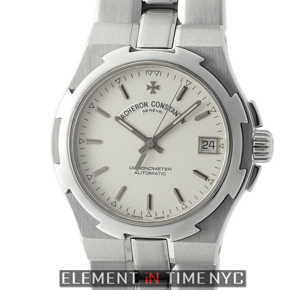 Chronometer 37mm Stainless Steel Silver Dial