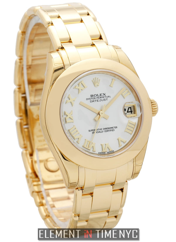 Masterpiece Special Edition 18 Karat Yellow Gold 34mm