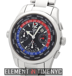 Restivo Limited Chronograph World Time Stainless Steel 43mm