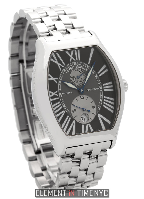 Gigante Stainless Steel Black Dial 38mm