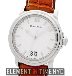 Grande Date Stainless Steel White Dial 40mm