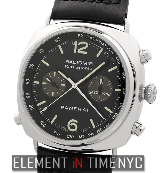 Chronograph Rattrapante Steel 2005 45mm
