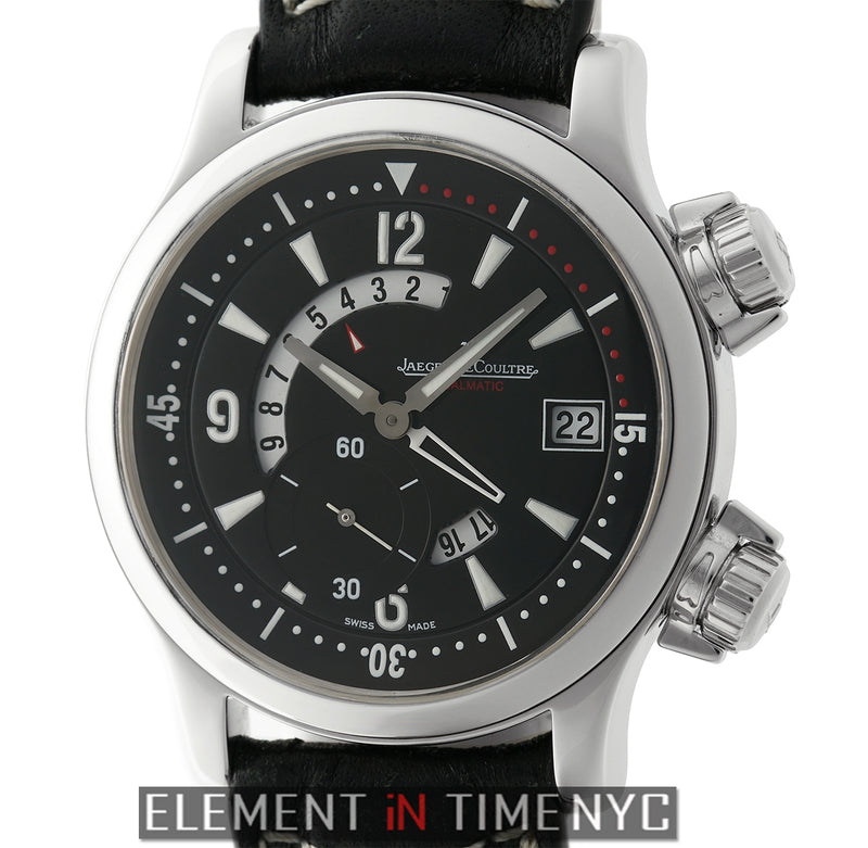 Dualmatic Stainless Steel Black Dial 42mm