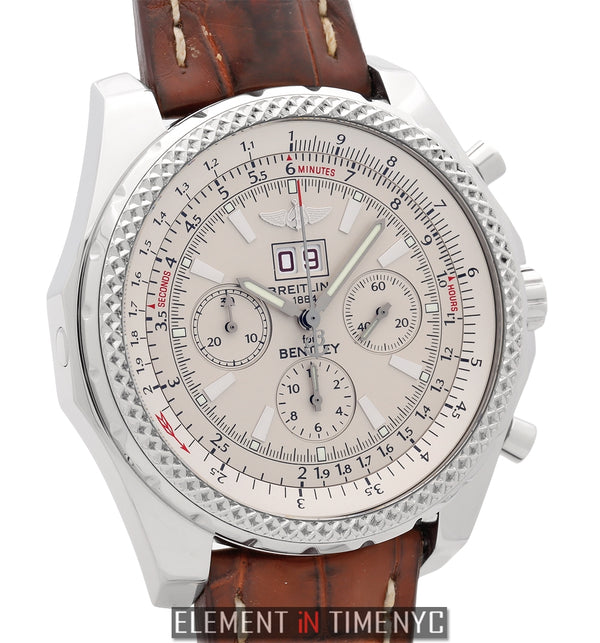 6.75 Stainless Steel Chronograph Silver Dial 48mm